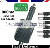 Universal Car adapter charger 800ma adapter Car / Car fitting