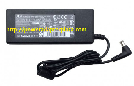 Brand New LG 24en33t 24en43v-b 24eb23tm-w 24ec53v-p 75W AC Adapter Charger Cord