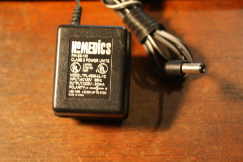 6v DC 300ma Homedics SS-100 TPL-0630-UL-1C Class 2 Power Supply Adapter Cord Charger